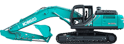 Gato Large Excavator, Kobelco Excavators Newcastle, GATO Sales and Service