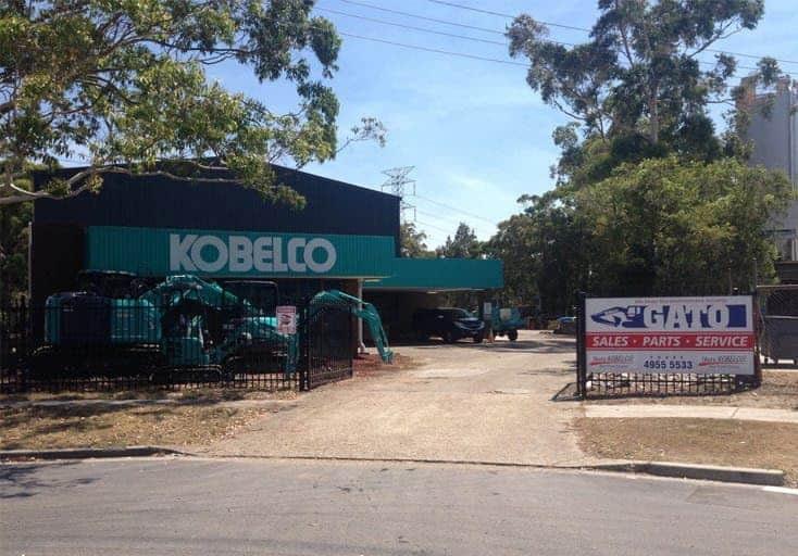 Gato Sales and Repairs, Kobelco Excavators Newcastle, GATO Sales and Service
