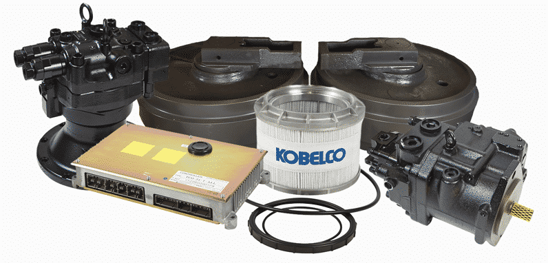 Genuine Kobelco Excavator Parts, GATO Sales and Service