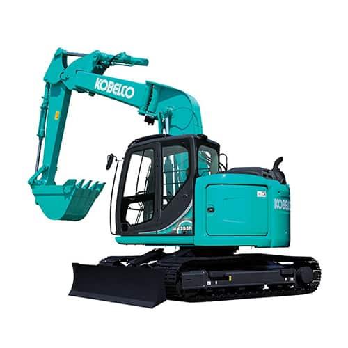 kobelco SK135SR 5 Offset midi excavator