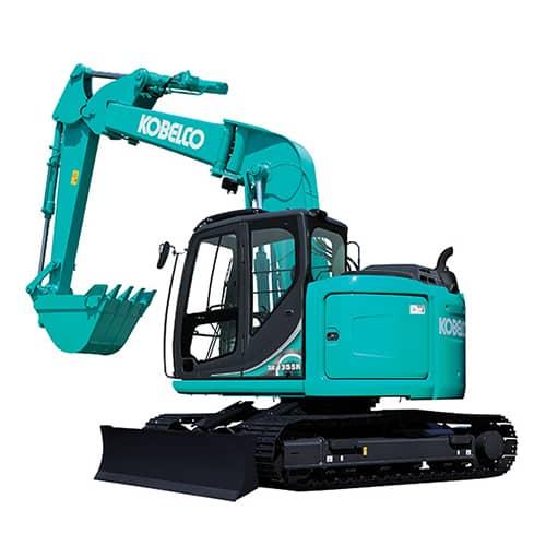 kobelco SK135SR 5 Offset tier 4 final excavator