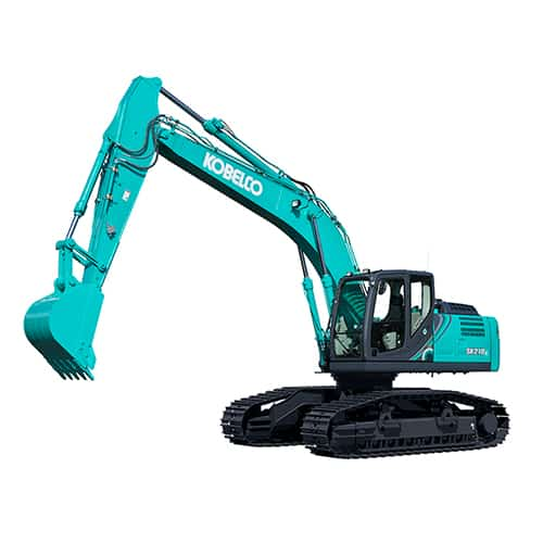 kobelco SK210LC 10 High and Wide large excavator