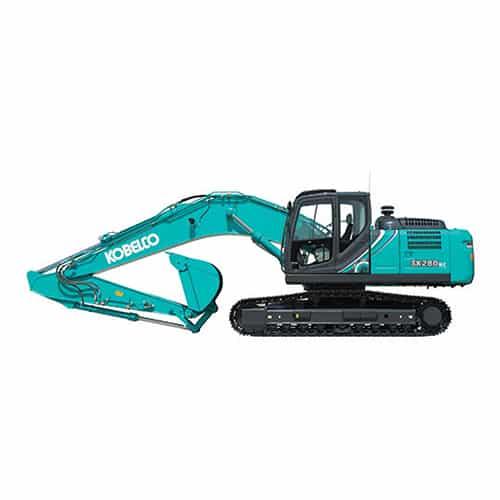 kobelco SK250 10 large excavator