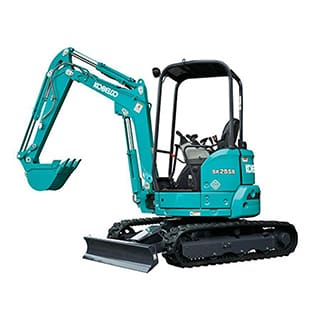 kobelco SK25SR 6E Canopy mini excavator