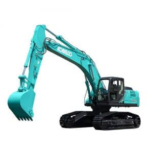 kobelco SK260LC 10 High and Wide large excavator