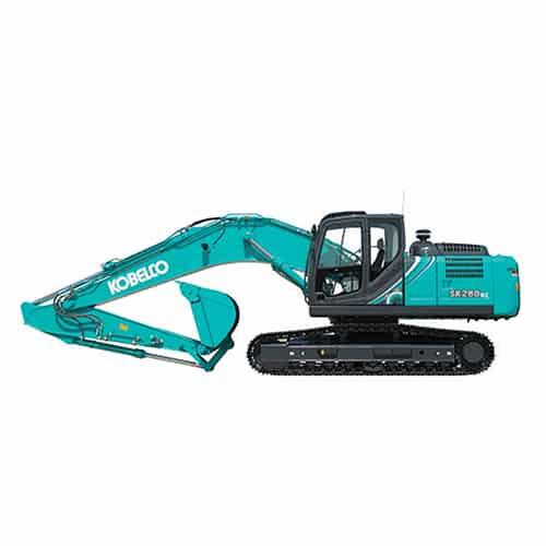 kobelco SK260LC 10 large excavator