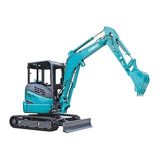 kobelco SK30SR 6 Cab mini excavator