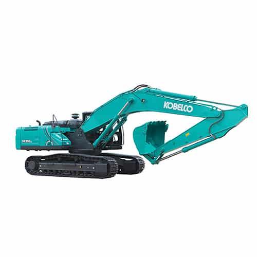 kobelco SK330 10 large excavator