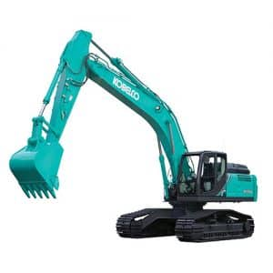 kobelco SK350LC 10 High and Wide large excavator