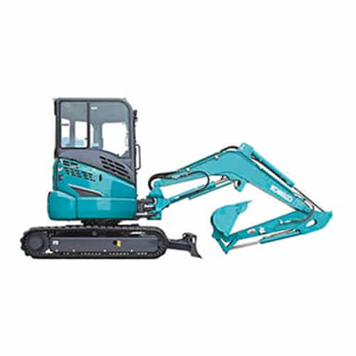 kobelco SK35SR 6 Cab mini excavator