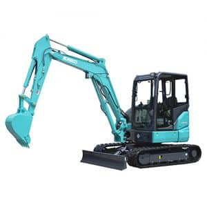 kobelco SK45SRX 6E Canopy tier 4 final excavator