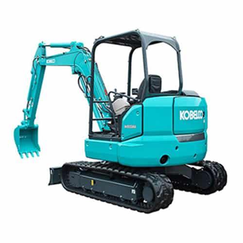 kobelco SK55SRX 6 Canopy mini excavator