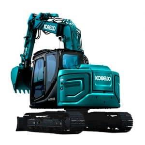 kobelco SK75SR 7 Offset tier 4 final excavator