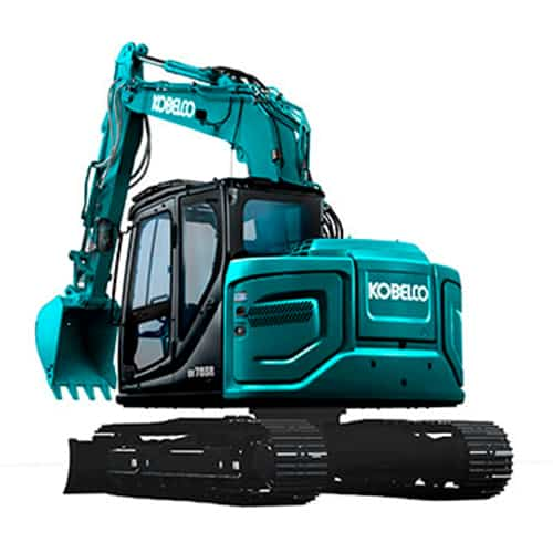 kobelco SK75SR 7 tier 4 final excavator