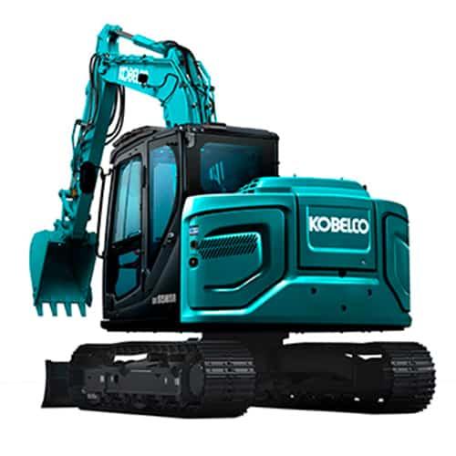 kobelco SK85MSR 7 tier 4 final excavator