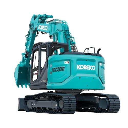 SK135SR-7 OFFSET midi excavator
